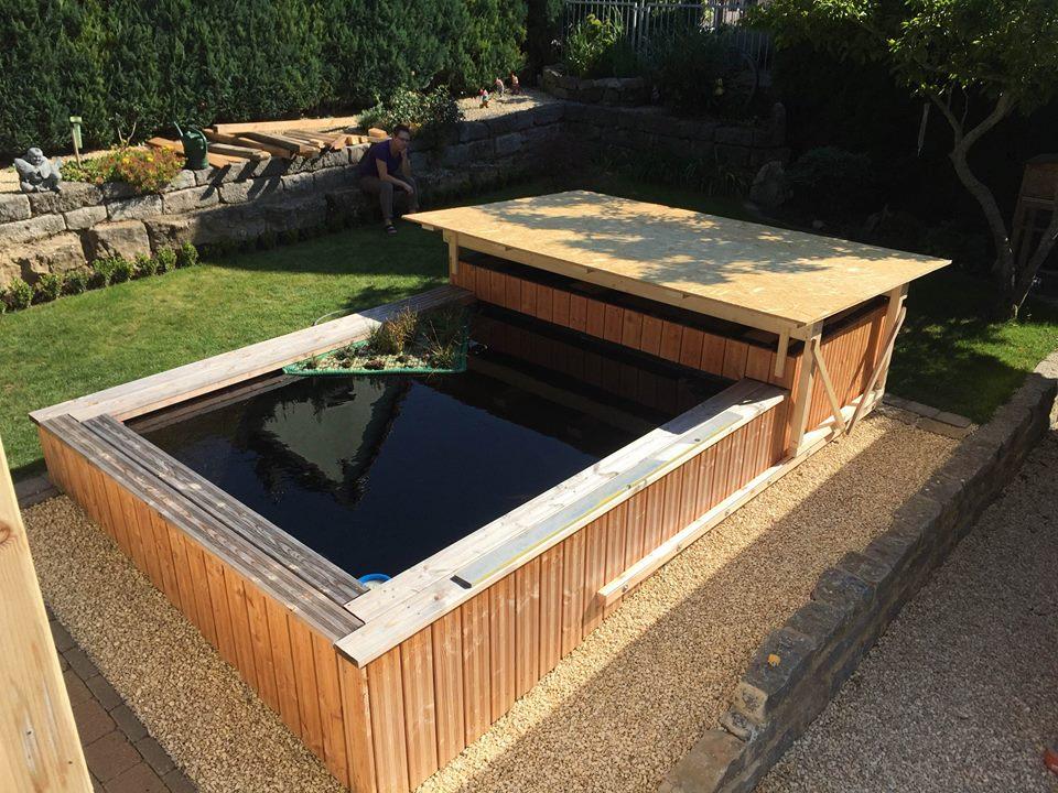 projekt koi teich 20m3 aquatec teichbau equipment koi. Black Bedroom Furniture Sets. Home Design Ideas